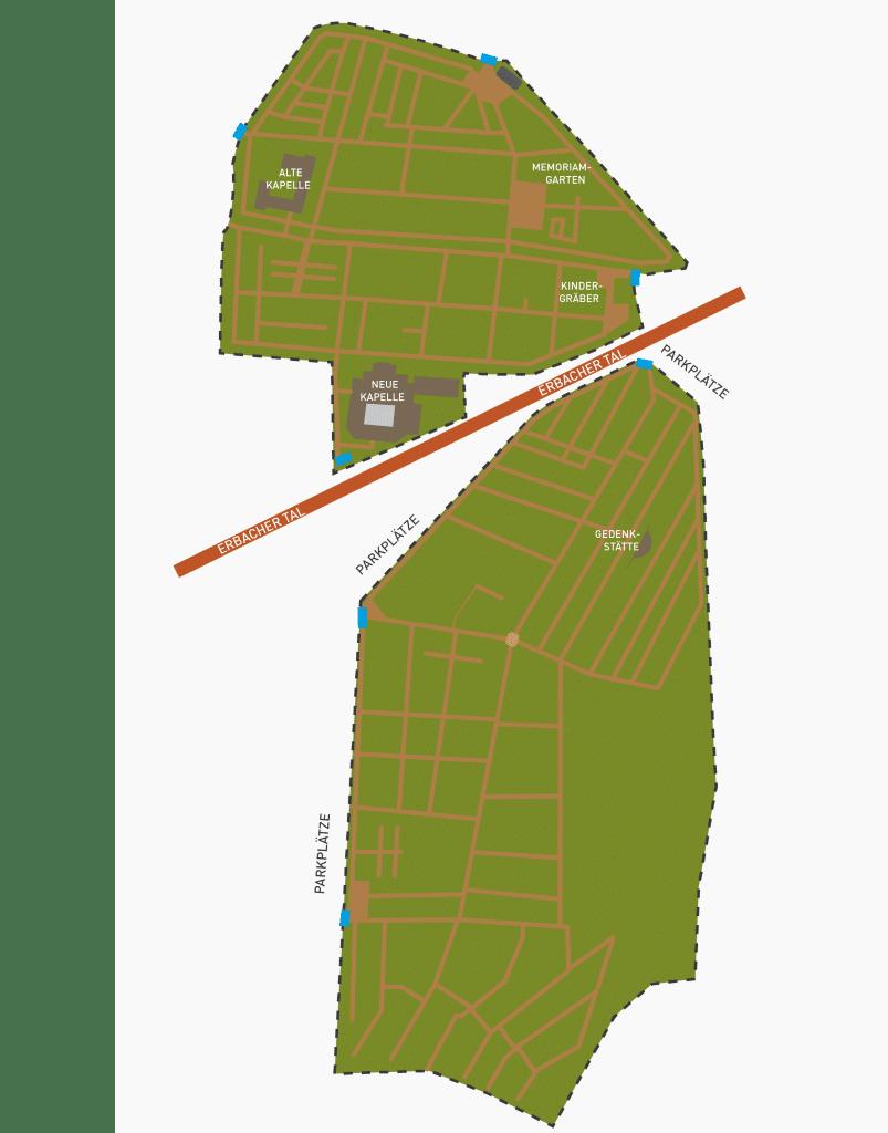 Heppenheimer Lageplan